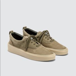 Fear of God 101 Lace Up Sneakers Taupe Beige 44